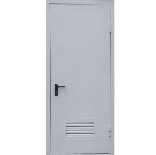 Дверь без утепления с вентиляцией