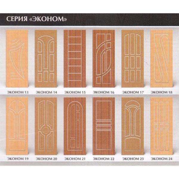 Декоративные накладки для дверей из МДФ